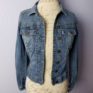 Kut from the Kloth Jean Jacket Denim Button Up